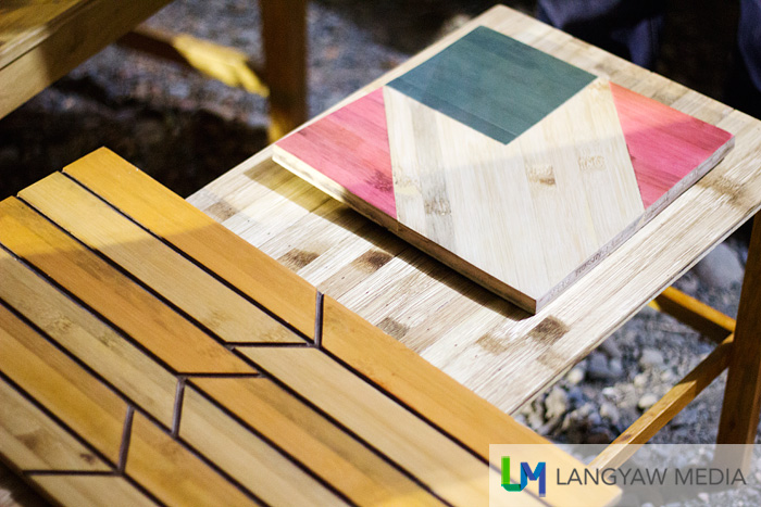 Engineered bamboo as wood planks for cladding or finishing