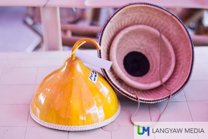 Gourd hats made by Gawad ng Manlilikha ng Bayan Awardee Teofilo Garcia