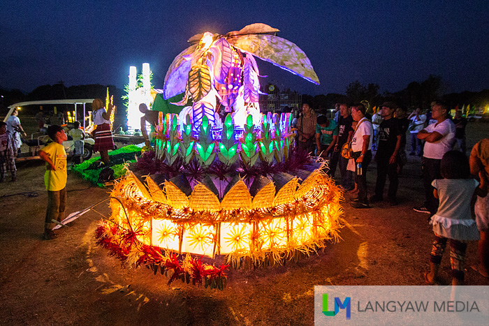 Perhaps, the most beautiful entry during the Silnag Festival of Lights event