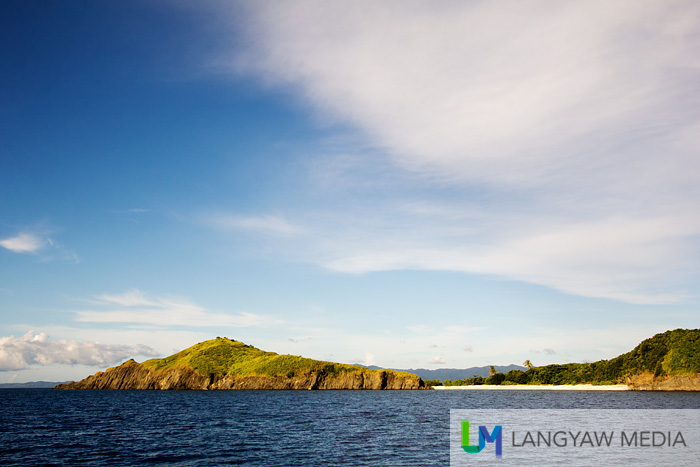 Catanaguan Island from a distance