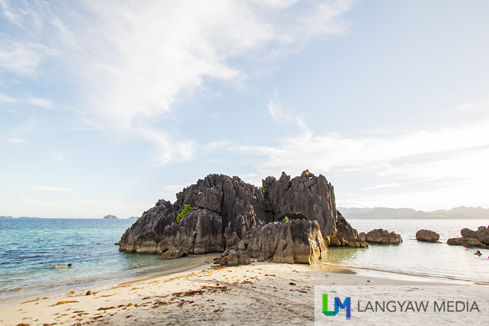 Rock formation at the other side of Catanaguan Island