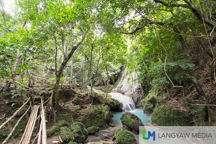 A peek at what's in store when visitors arrive at the Nalalata Falls area