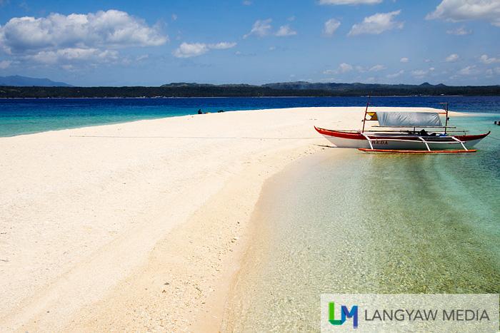 The Higatangan Sandbar off Naval, Biliran