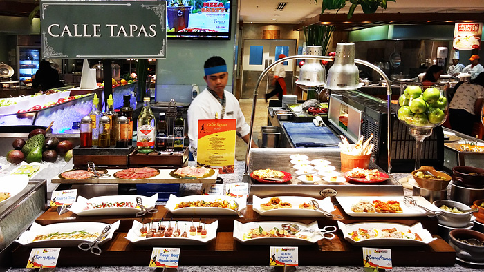 Different tapas on offer
