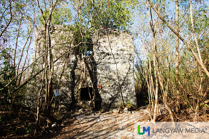 The 19th century moro watch tower which is part of the telegraphic watchtowers in southeastern Cebu