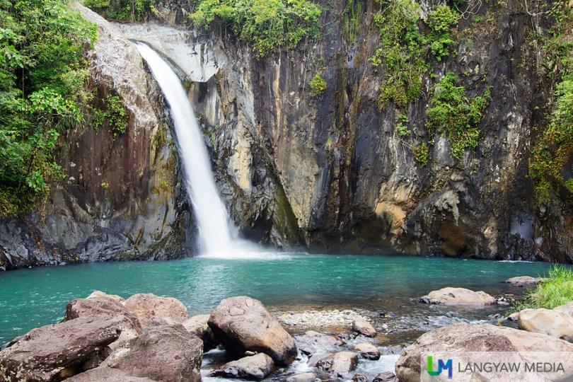 Beautiful, pretty Tinago Falls with its single drop