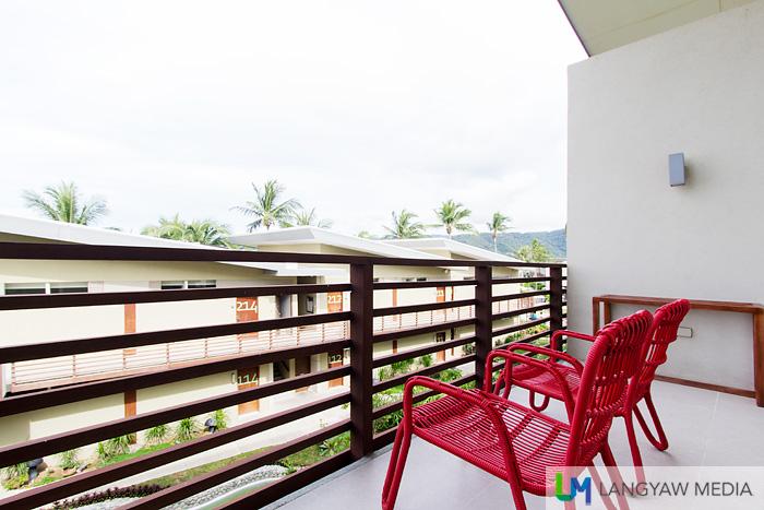 Veranda of the Junior Premier Suite