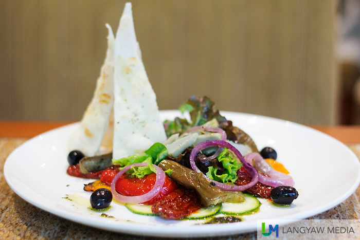 Cafe Marco vegetarian dishes