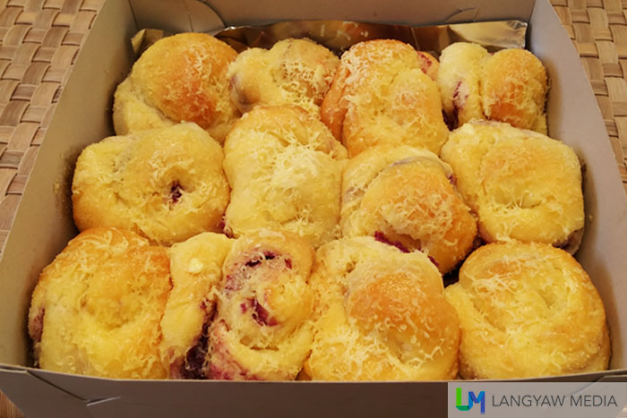 The best pasalubong in this part of Bohol are these soft ensaymada buns baked everyday by the resort. It's really good!
