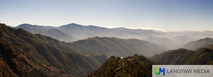 The stunning landscape at the highest point of the Philippine highway system in Atok Benguet
