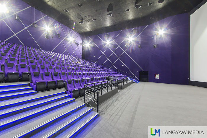 A peek at the Imax theater