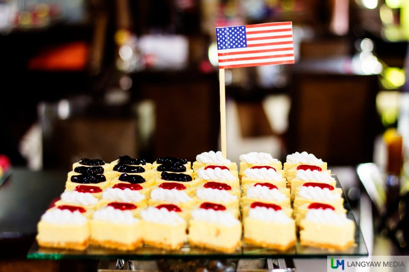 God, those cheesecakes!