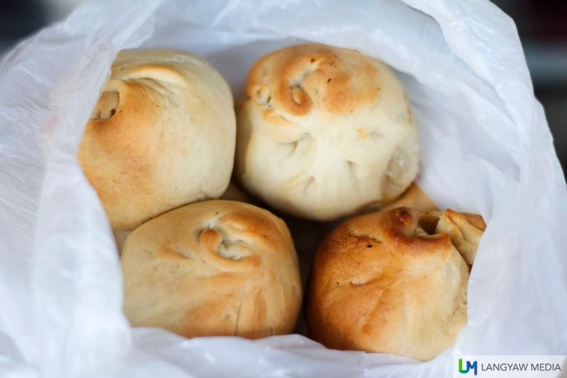 Toasted siopao (3N Bakery)