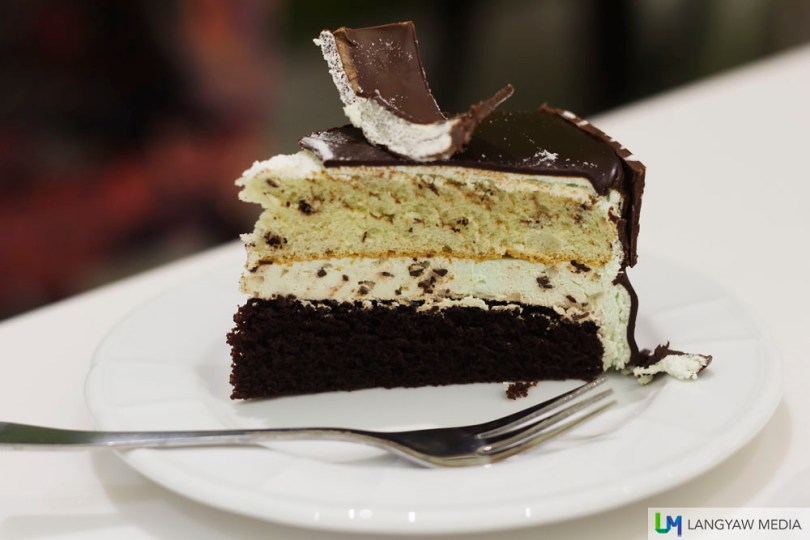 Leona's cakes are really good and we often buy from them for Noche Buena and Media Noche