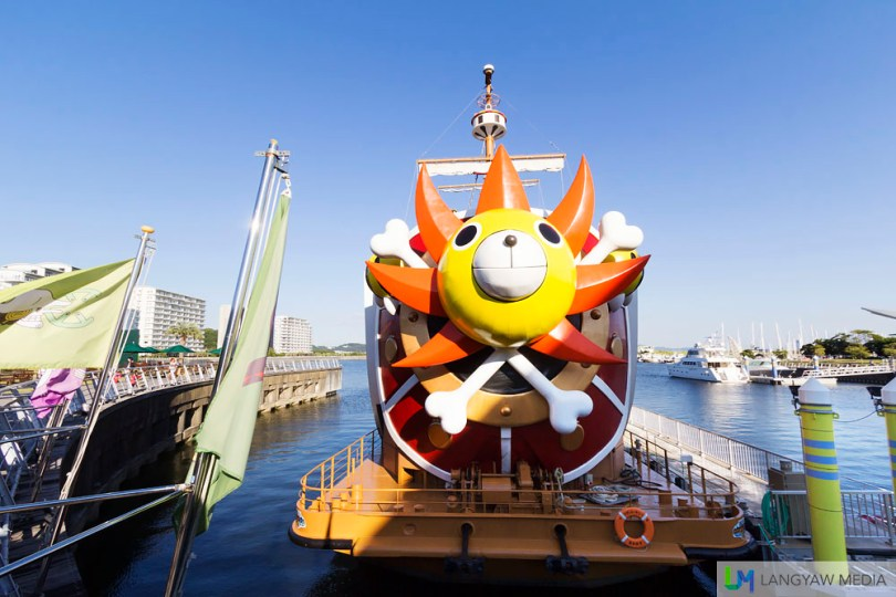 Relieve the One Piece manga and much more at Laguna Ten Bosch. You can also take a cruise via the Thousand Sunny.