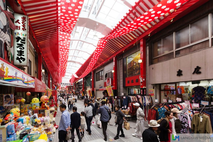The Osu Shopping District has lots of choices from unique items, clothing, trinkets, to high quality branded second hand items