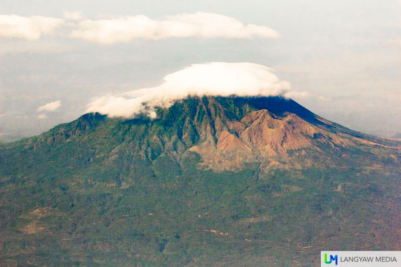 Gunung Lamongan in Ranuyoso is a smaller volcano