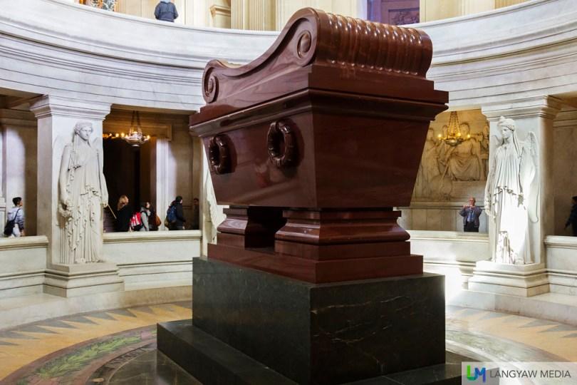 Napoleon Bonaparte's final resting place