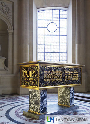 The tomb of Marechal Lyautey, Marshal of France and colonial administrator