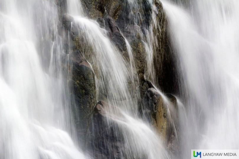 Blurred cascades becoming dream like