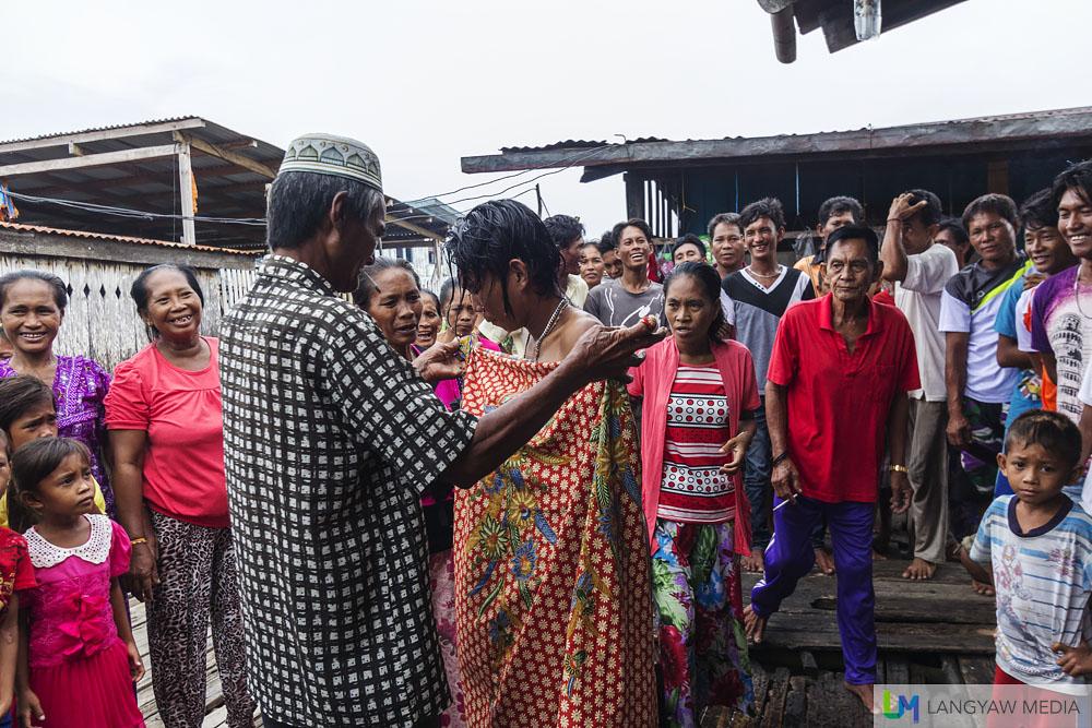 Sama circumcision in Sitangkai ritual