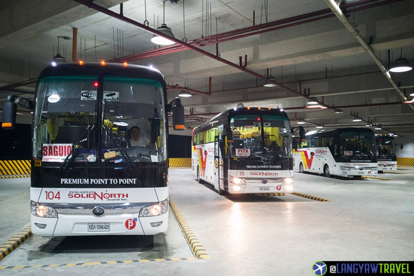 Solid North Baguio to PITX Bus