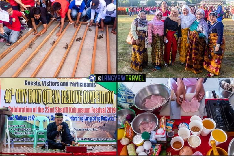 Shariff Kabunsuan Festival events