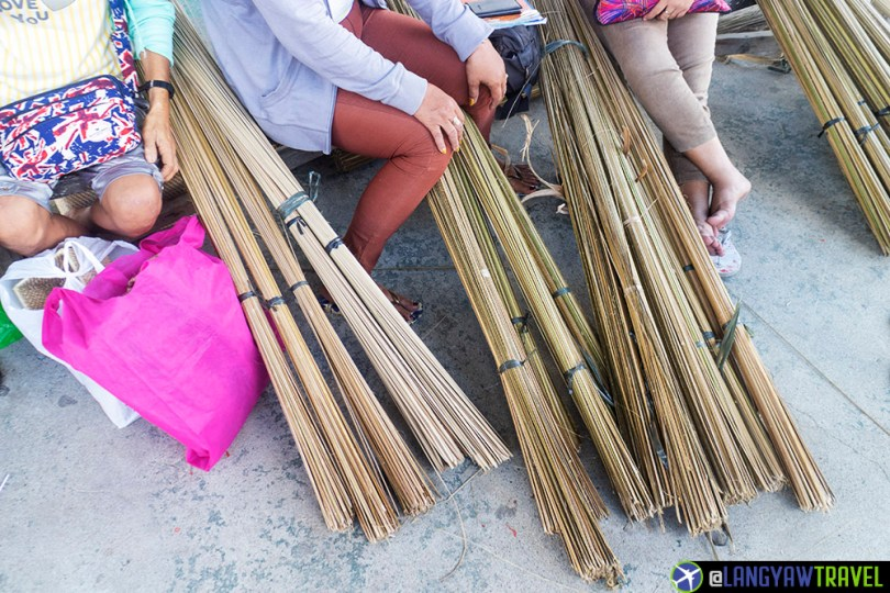 Basket weaving in bohol