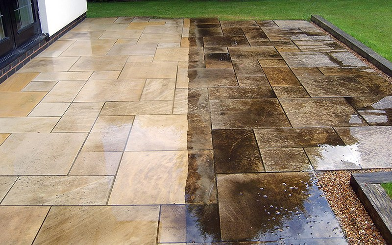 hardscaping cleaning maintenance