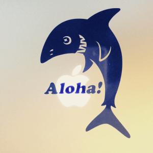 Aloha Shark - Surfboard Sticker