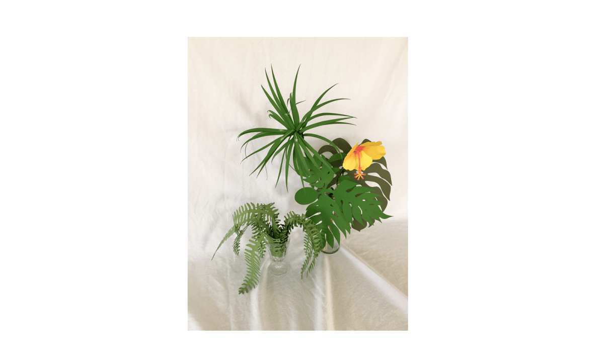 Lani's Tropical Plants Paper Craft Kit