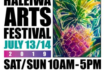 Haleiwa Arts Festival 2019 (Booth 21)