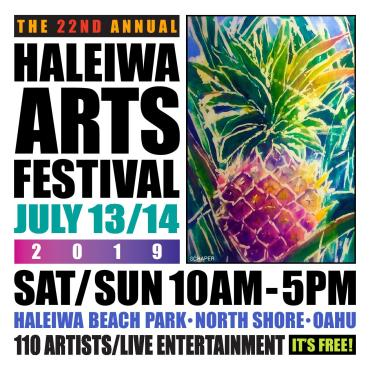 Haleiwa Arts Festival 2019 (Booth 21)