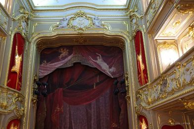 Private theater in Catherine Palace