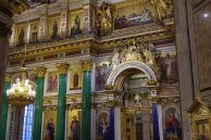 Wall features of St. Isaac cathedral