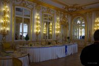 One of the many Catherine Palace dining rooms