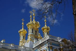 Domes of Catherine Summer Palace