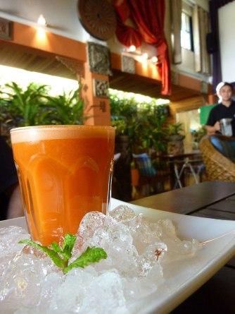 Carrot juice @ +Salad