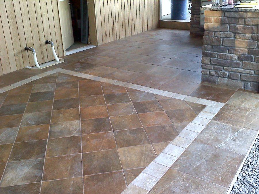 car porch floor tiles design