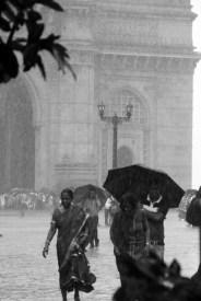 Rain storm, Gateway of India