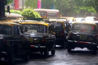 Iconic taxis, Mumbai