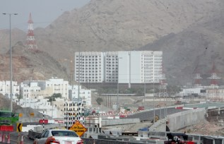 Development at the edge of Muscat