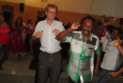 More Gangnam style in Hambantota.