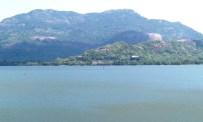 Kandalama from across the lake