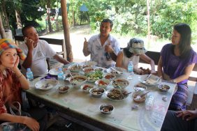 Authentic chicken soup near Pyay