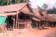 Jungle village en route to Htee Khee