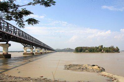 View of Gaung se Kyun, Gyaing River