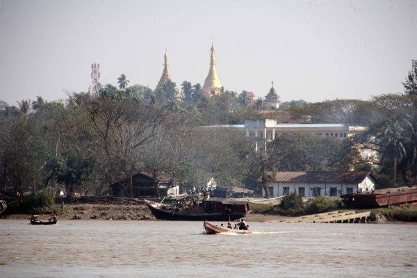 View of Kyaik Tan Lan from Gaung Se Kyun island