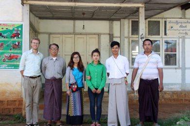 With Ethnic Minorities Development Network, Pindiya