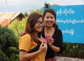CSO strengthening team members, Kyauk Me
